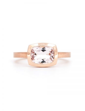 Pink Perfection Ring - Morganite