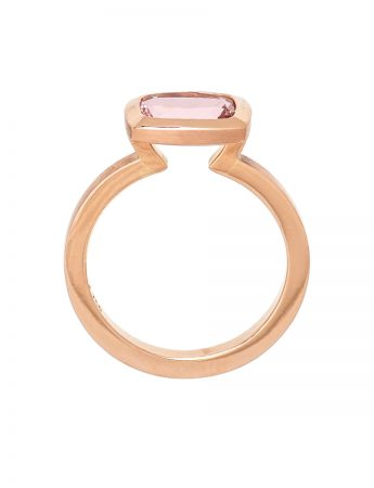 Pink Perfection Ring – Morganite
