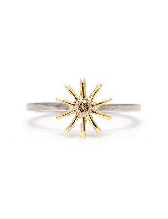 Radiant Star Ring - Diamond
