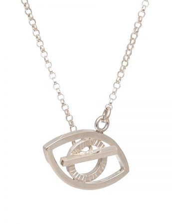 Eye Necklace - Silver