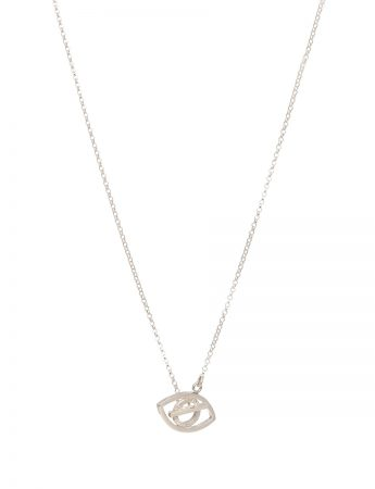 Eye Necklace – Silver