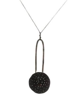 Sieve Necklace - Black & White