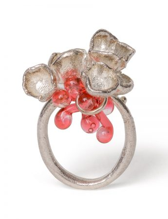 Coral Garden Ring - Pink