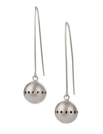 Large Unity Earrings – Silver
