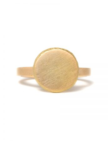 Peach Ring - Yellow Gold