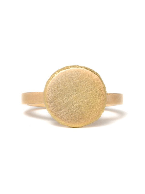 Peach Ring – Yellow Gold