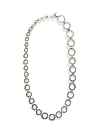 Phases Necklace - Silver