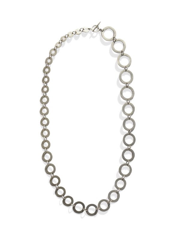 Phases Necklace – Silver