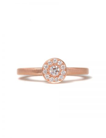 Rosie Diamond Ring - Rose Gold