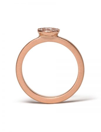 Rosie Diamond Ring – Rose Gold