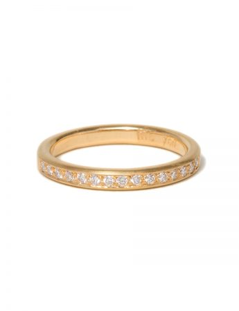 Sweet Pea Diamond Ring – Yellow Gold