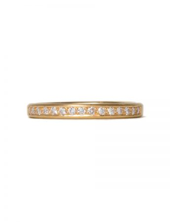 Sweet Pea Diamond Ring - Yellow Gold