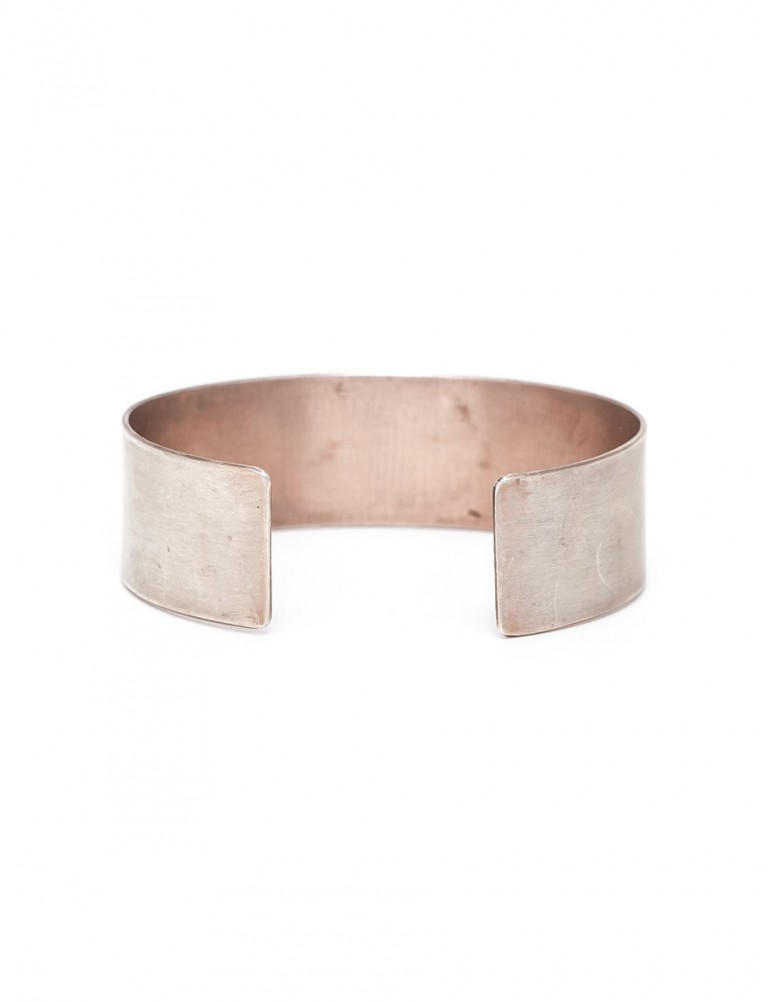 Feather Cuff – Silver & Rose Gold Plate