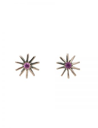 Radiant Star Sapphire Earrings – Tahitian Pearl