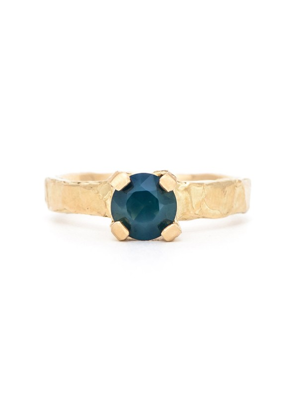 Melted Ring – Sapphire