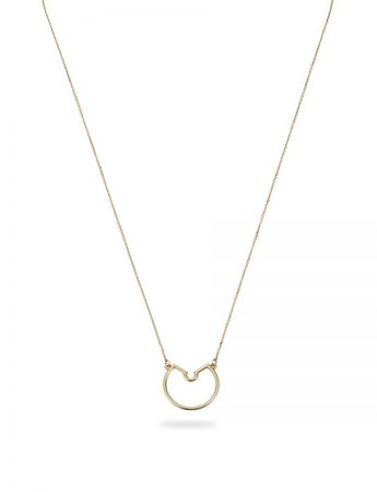 Small Naked Pendant Necklace – Yellow Gold