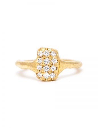 Aylsa Diamond Ring - Yellow Gold