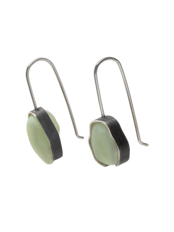 Beach Glass Earrings – Mint Milk