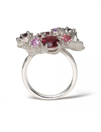Floral Bonzai Ring – Blush Hot Pinks