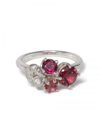 Violet Posy Ring - Blush Pink