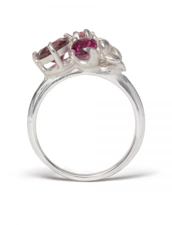Violet Posy Ring – Blush Pink