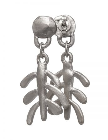 Botanica Earrings - Silver