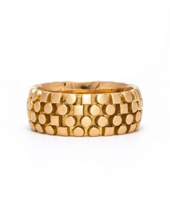 Code Writer Ring – Yellow Gold