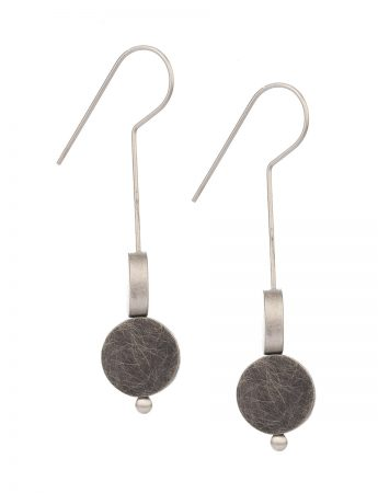 Duality Earrings - Black & Silver