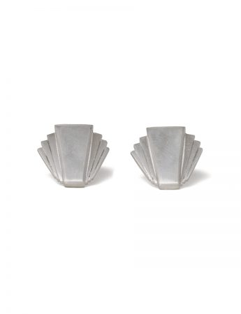 Fantail Earrings - Silver