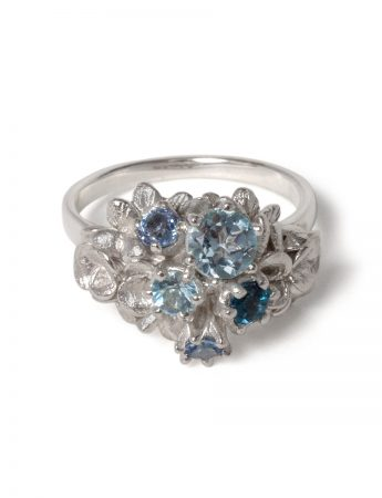 Forget Me Not Giardinetti Ring - Blue
