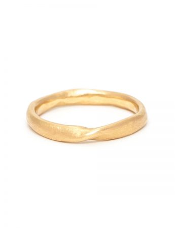 Little Twist Ring - Yellow Gold