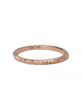 Mini Facet Ring - Rose Gold