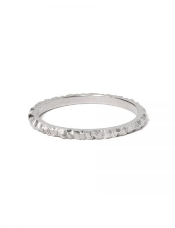 Mini Facet Ring - Silver