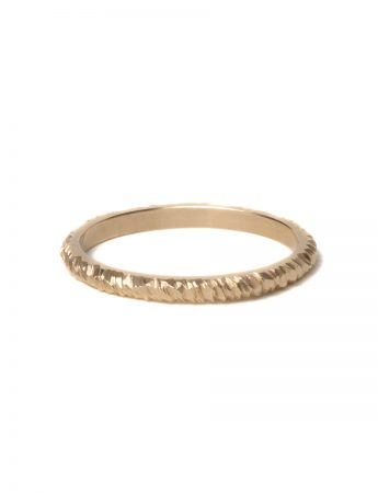 Mini Facet Ring - Yellow Gold