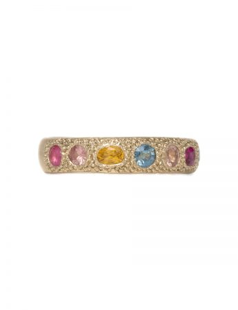 Multicolour Eternal Love Ring – Gold