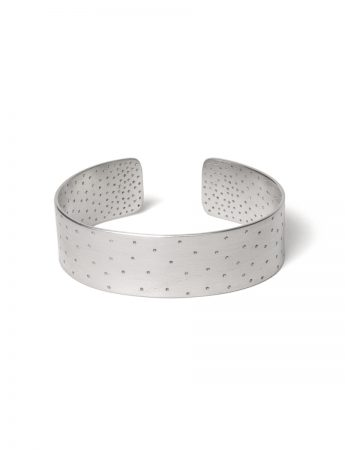 Perforated Cuff - Silver