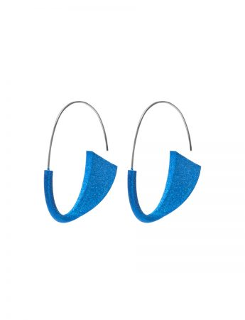 Suki Earrings - Electric Blue