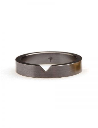 Triangle Stack Ring - Tantalum