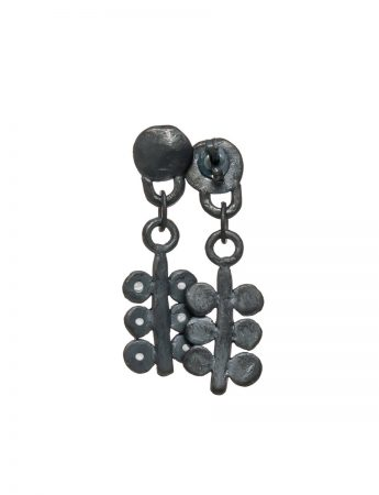 Cereal Earrings - Black