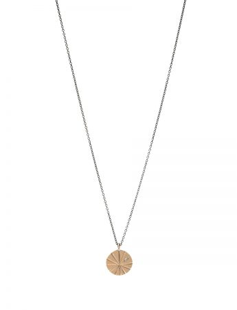 Fan Shell Necklace - Gold & Diamond