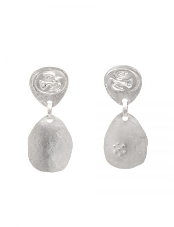 Flight Earrings - Silver