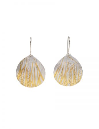 Grasses Earrings  - Silver & Gold