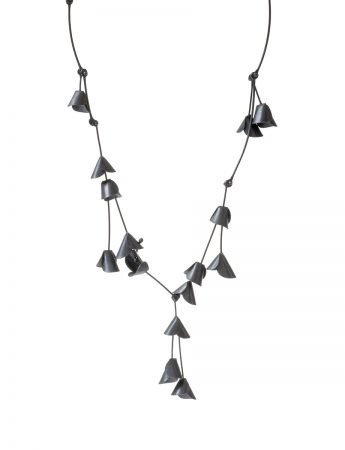 Jungle Cactus Necklace - Black