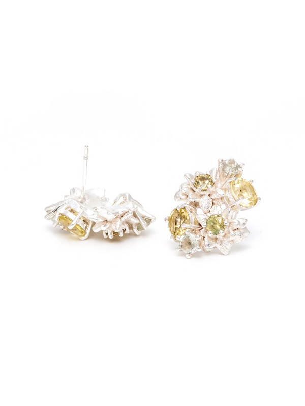 Lemon Blossom Stud Earrings
