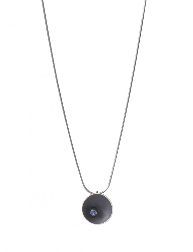 Midnight Sea Necklace – Sapphire