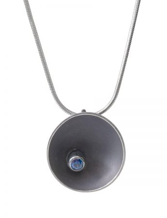 Midnight Sea Necklace - Sapphire
