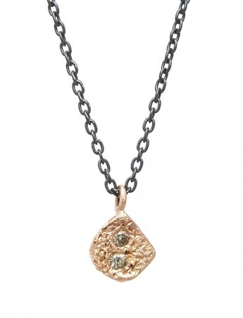 Textura Rosa Pendant Necklace