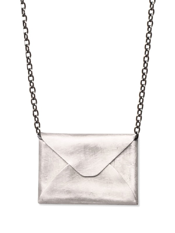 Love Letter Necklace – Silver