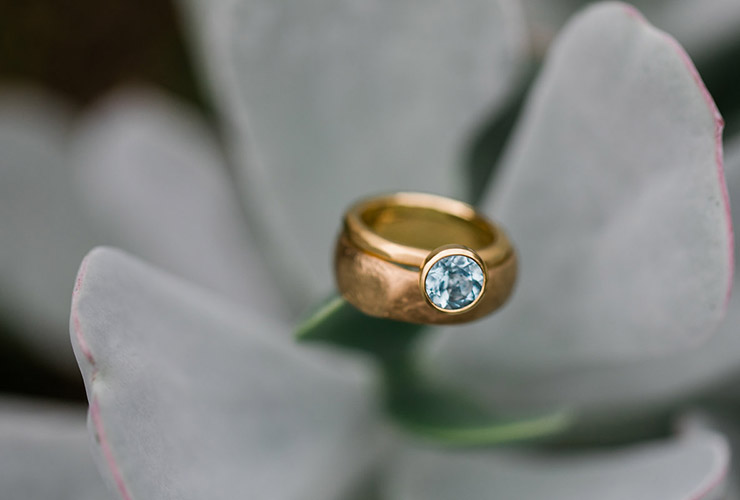 Wedding Inspiration - Hannah & Morgan - Aquamarine Ring