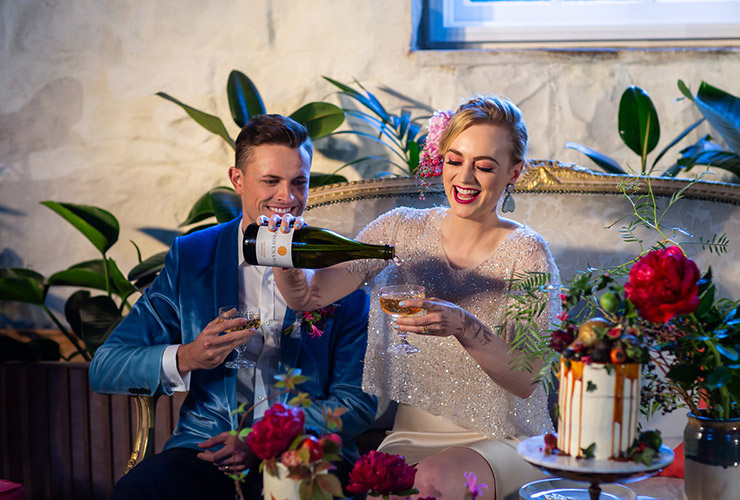 Wedding Inspiration - Hannah & Morgan - Drinks